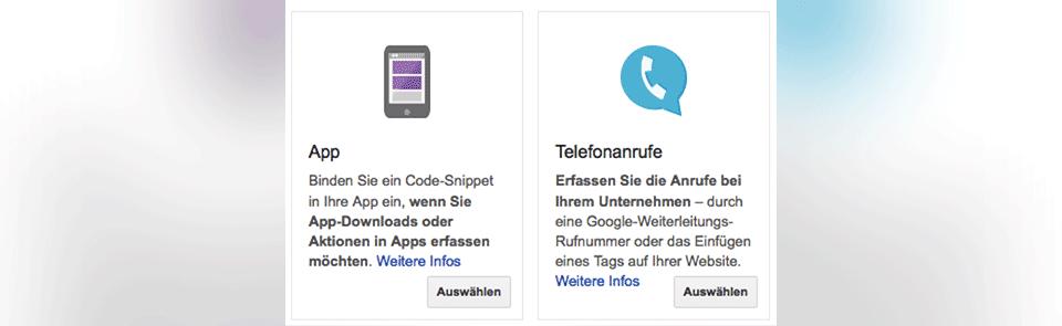 App Downloads und Anrufe tracken