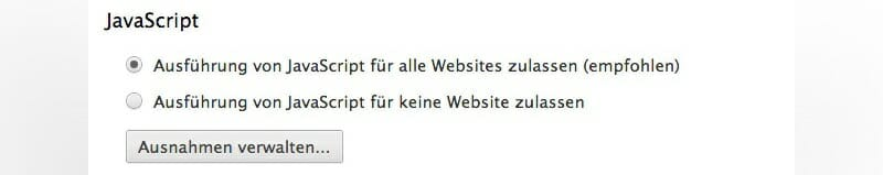 Javascript Google Chrome Disabled - Google Analytics Tracking zeigt weniger Konversions