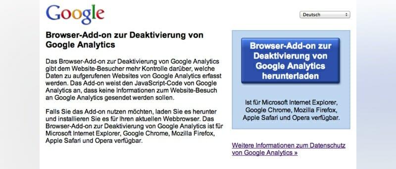 Google Analytics Tracking Blocker