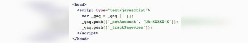 Google Analytics asynchroner Tracker- Einbau