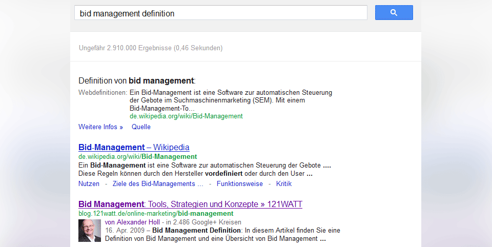 Google Snippet 2