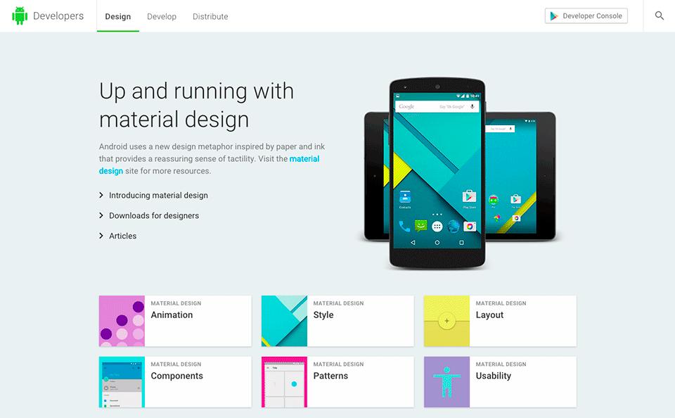 Design-Leitfaden von Google/Android