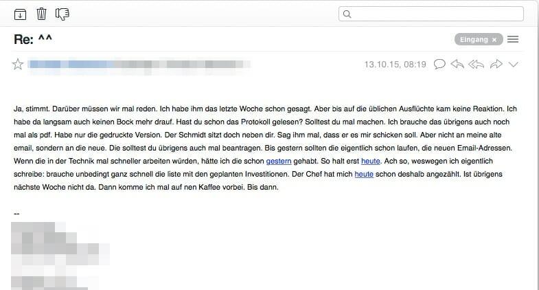 Wie man bessere E-Mails schreibt: die schlechteste E-Mail aller Zeiten