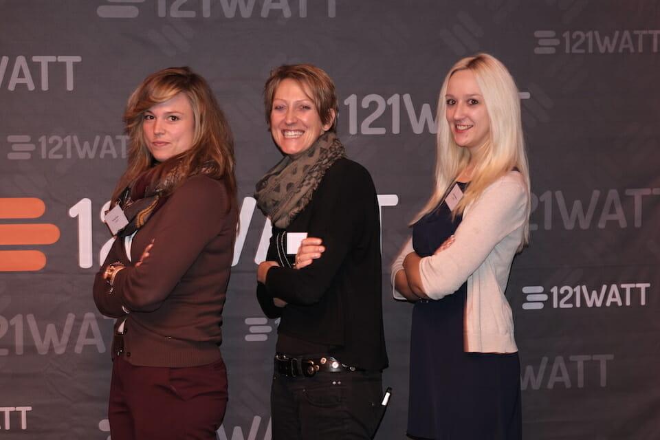 121WATT Fotowand - Team