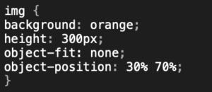 Dateien ausrichten mit object-position